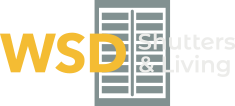 WSD Shutters & Living logo